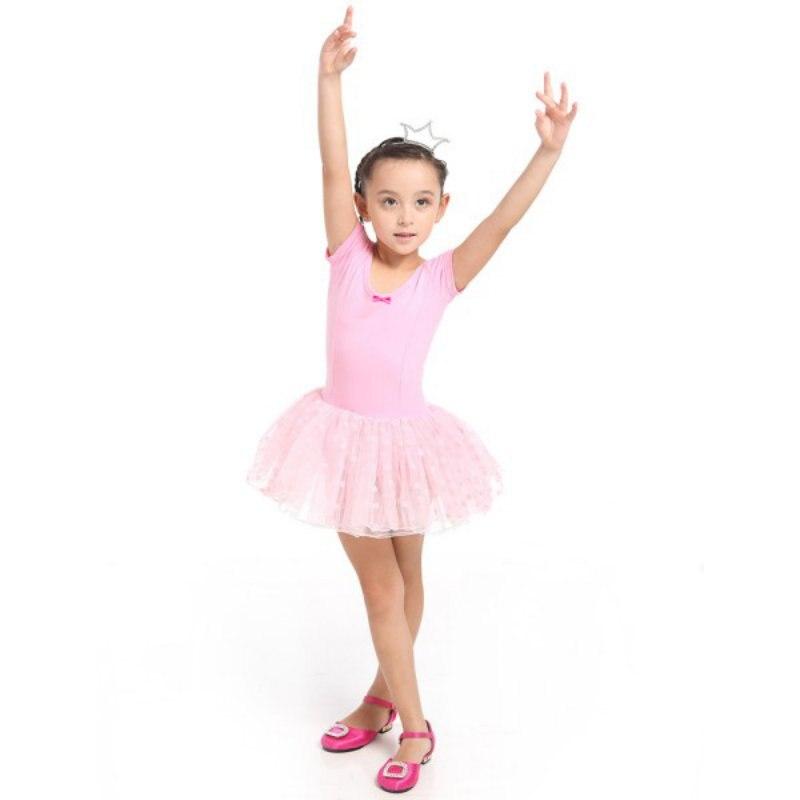 163549a8eb Kid Dziewczyny Z Długim Rękawem Balet Taniec Sukienka Fitness Gimnastyka  Nosić Trykot Kostium