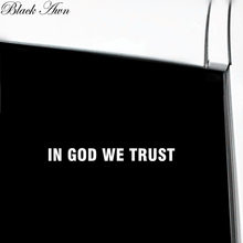 IN GOD WE TRUST Window Decal Vinyl Bumper Sticker D114