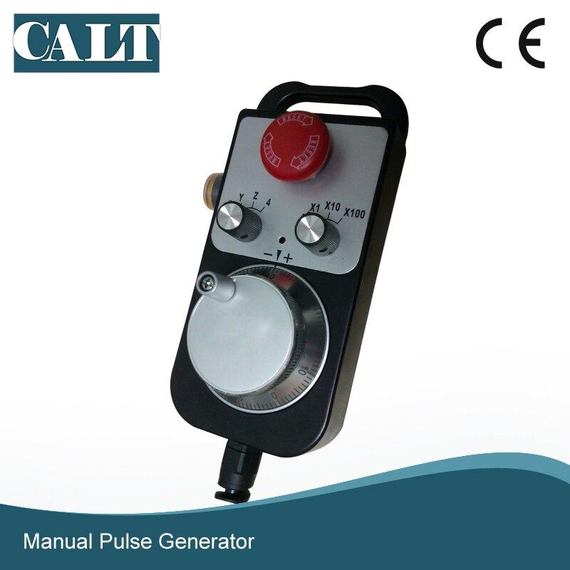 CALT ЧПУ контроллер ручного колеса энкодер 6 осей MPG ручной импульсный генератор с E stop фрезерный станок TM1474 100BSL5 - 5