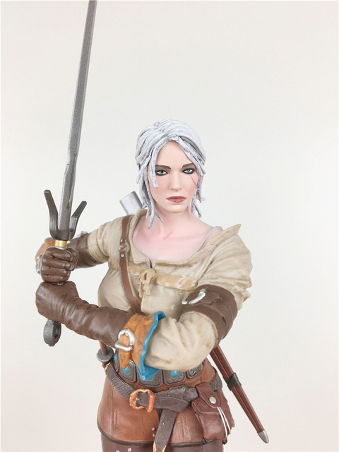 The Witcher 3 - Wild Hunt: Ciri Figure Dark Horse The Witcher PVC Game Figure Collection Model Toy 1