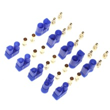 1Set 5Pairs Male Female EC3 Style Connector w 10 Pairs 3 5mm Gold Bullet Banana Plug