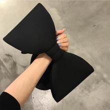 2021 1 piece Women Valentine's Handbags Big Bow Day Clutch Bag Evening Party Clutches Black Handbag Shoulder Bag Bolsas Feminina
