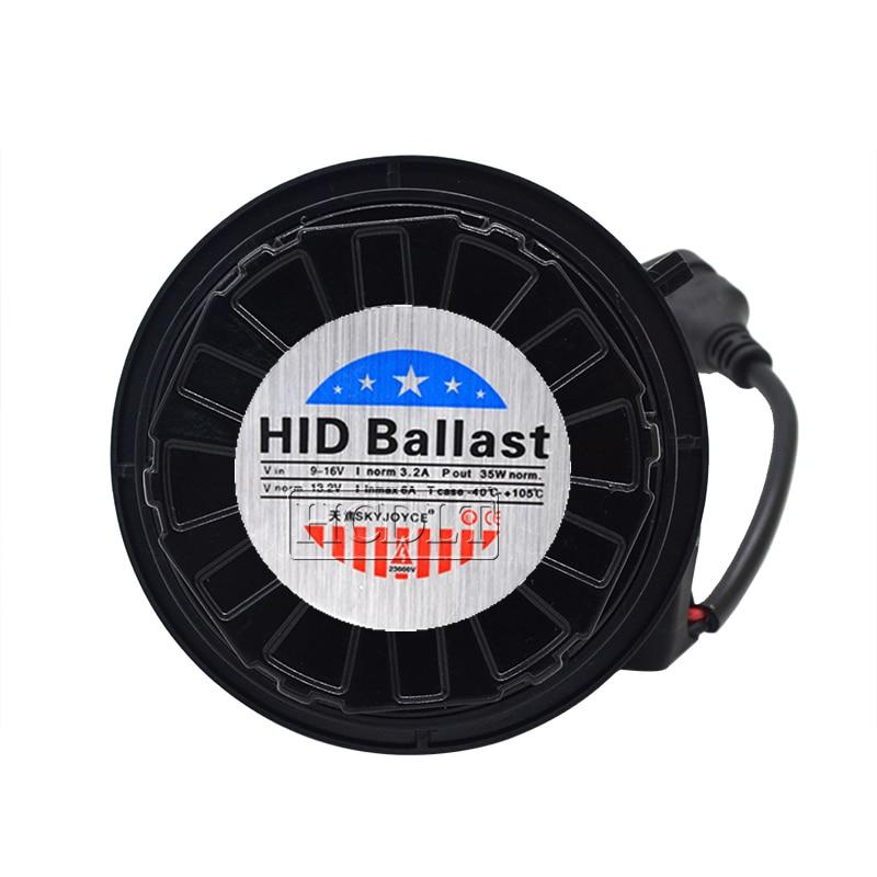 HCDLT Car Headlight Xenon 9012 HIR2 HID Kit 35W 9012 6000K HiLo Bixenon No Error Canbus Car Light Bulb Kit For IX35 2014-2016 (7)