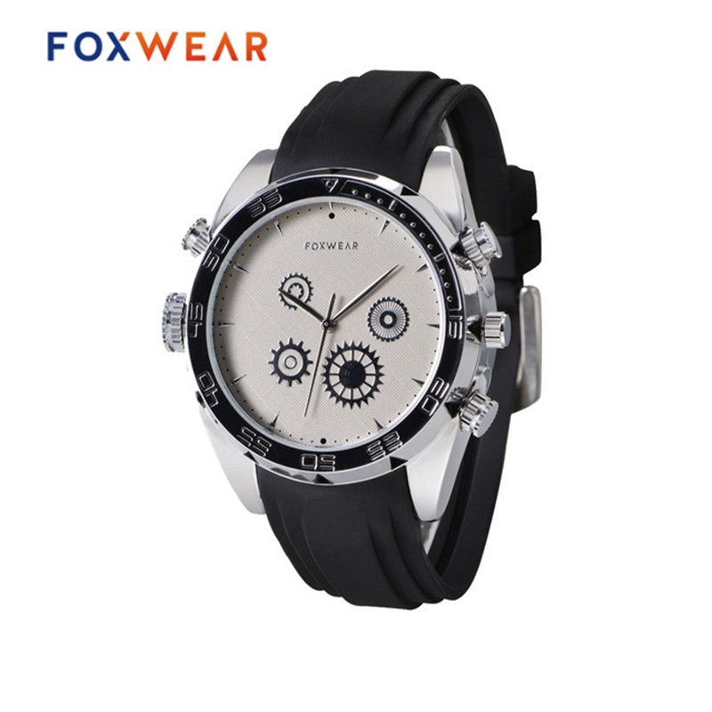 FOXWEAR F36 Fashion Smart Watch IP67 Waterproof Wireless Bluetooth Sports MP3 Wristwatch Phone Anti-lost SMS Calls Sleep Monitor