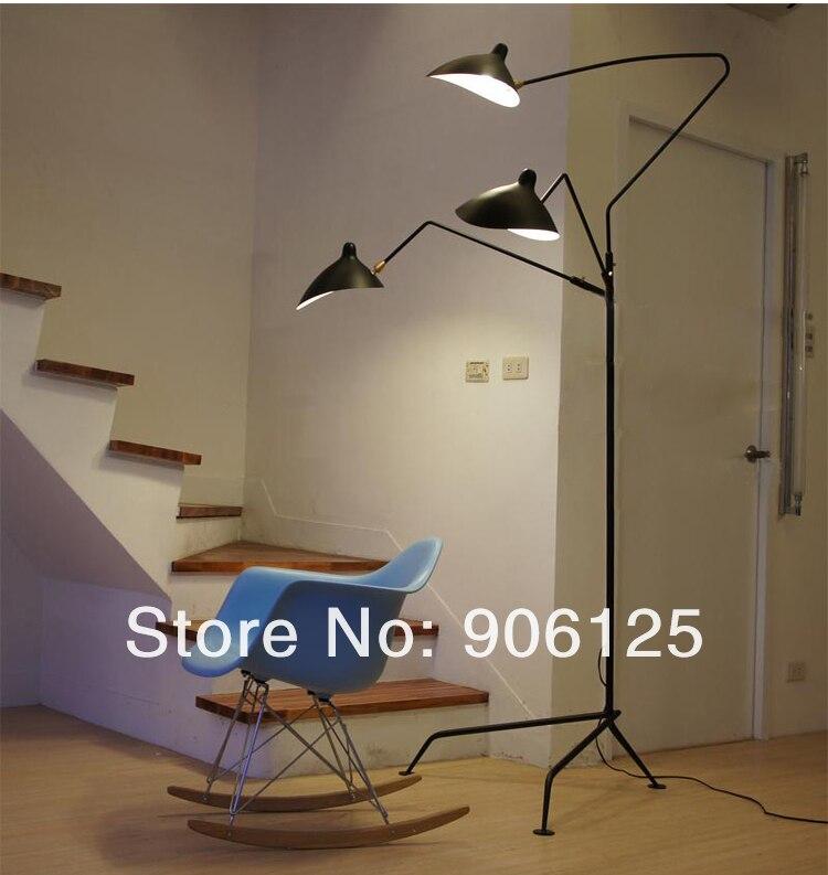 Modern Floor lamp Modern Floor Light  Designed by Serge Mouille Guaranteed 100%+Free shipping! ipc floor pca 6114p10 rev b1 100% test