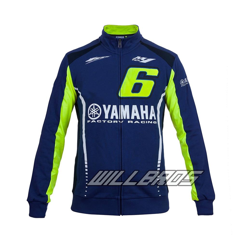 Moto GP Motorcycle for Yamaha Racing Blue Moto GP Mens FELPA Zip-up SweaterMoto GP Motorcycle for Yamaha Racing Blue Moto GP Mens FELPA Zip-up Sweater
