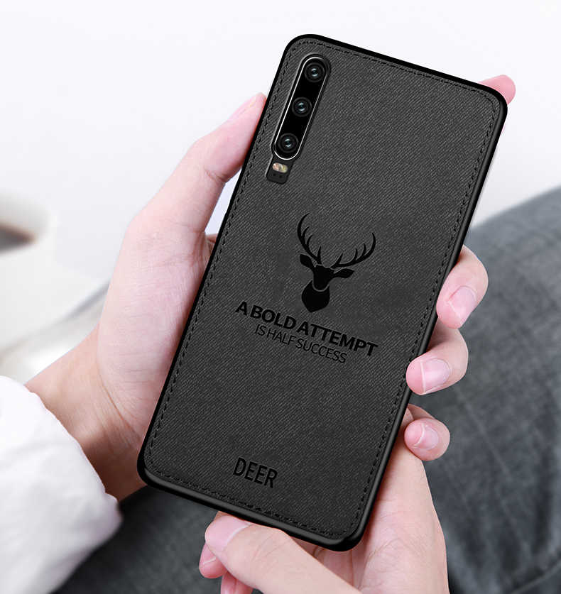 Luxury Cloth Deer Case For Huawei P Smart Plus P30 P20 Y6 Y7 Pro Y5 Y9 2019 Mate20 Lite Case on Honor 10i 20i 8S 8A 8X 8C Covers