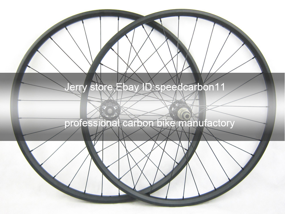 29er mtb carbon mountain bike wheel axle 15mm front X12*142mm 30mm width 29inch through hub wheel 29er hookless carbon bicycle wheel tubeless mountain bike wheel set thru axle 15mm 29inch mtb wheel