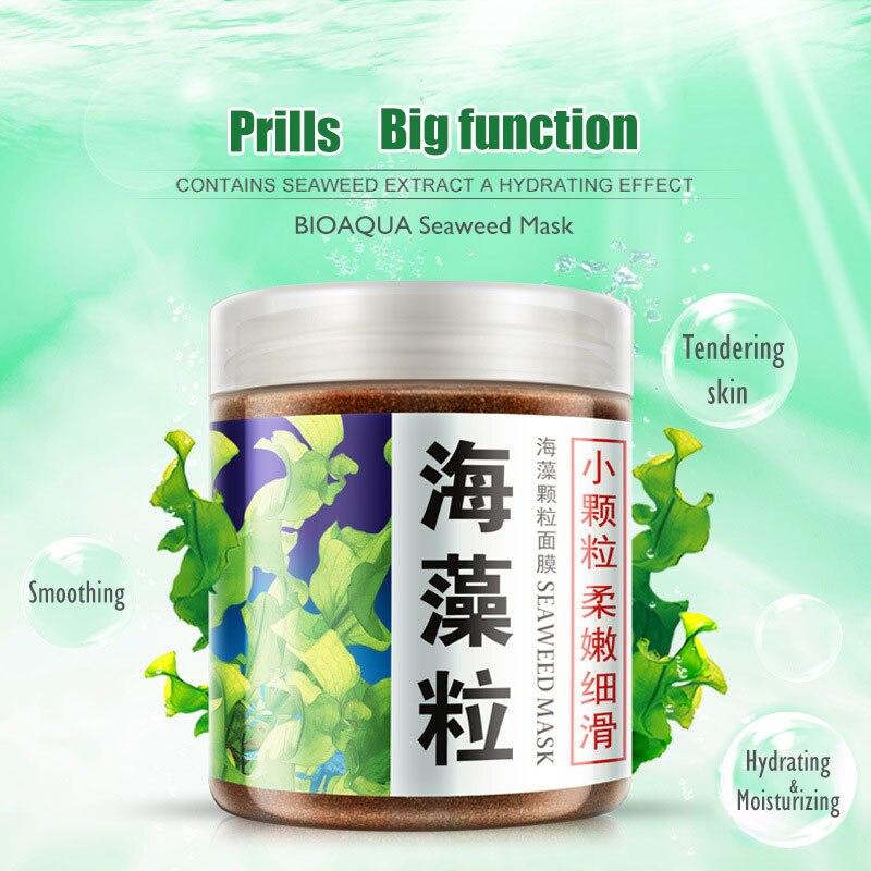 BIOAQUA Seaweed Mask Collagen Essence Face Mask Whitening Moisturizing Oil Control Pore Lifting Skin Care Cosmetics Facial 20pcs