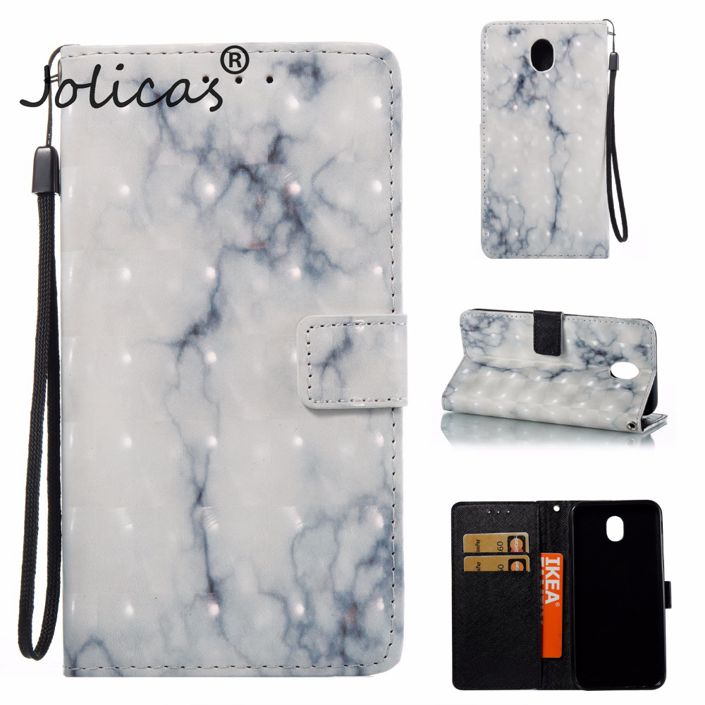 Case sFor fundas Samsung J7 2017 European Version Case Marble Vein For Samsung Galaxy J7 2017 J730F Etui Fundas Telefoon Hoesjes