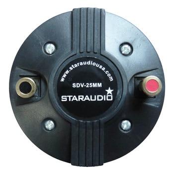 STARAUDIO 1 Pc 25MM 1000W 8 Ohms Titanium Compression Screw-On Horn Speaker Driver Tweeter SDV-25MM メンズ 時計 ゼニス