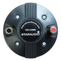 STARAUDIO 25MM 1000W 8 Ohms Titanium Compression Screw On Horn Speaker Driver Tweeter