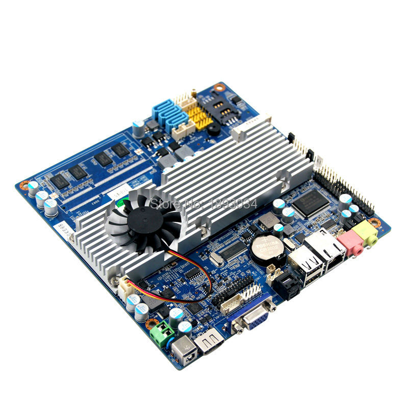 Cheaper dual core mini itx motherboard with AV output support time booting m945m2 945gm 479 motherboard 4com serial board cm1 2 g mini itx industrial motherboard 100