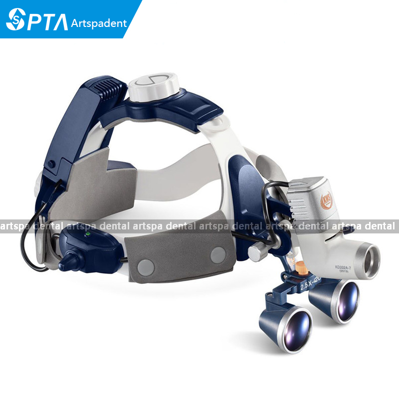 High Quality 2017 New 5W LED Surgical Head Light dental Lamp All-in-Ones Headlight with loupes 2.5X , 3.5X good quality dental cordless endo motor with led light treatment 16 1 reduction contra angle