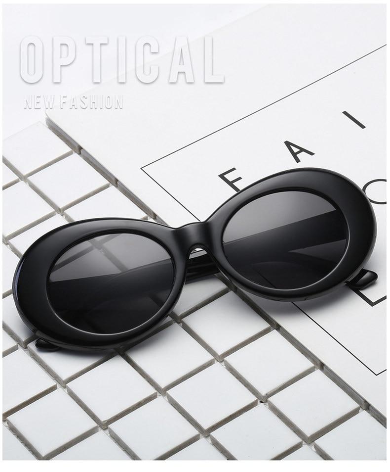 781edaa1d8 Clout, gafas de NIRVANA, Kurt Cobain, ronda de gafas de sol para mujer para  hombres, diseñador de marca, gafas Retro gafas de sol UV400 gafas