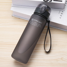 Water Bottle 500/400 Ml Plastic Drink Beverage Tour Outdoor Sports School Sealed Seal Pumpkin Climbing Water Bottles My Bottle.Q new 400 600ml 3 color solid plastic spray cool summer sport water bottle portable climbing outdoor bike shaker my water bottles