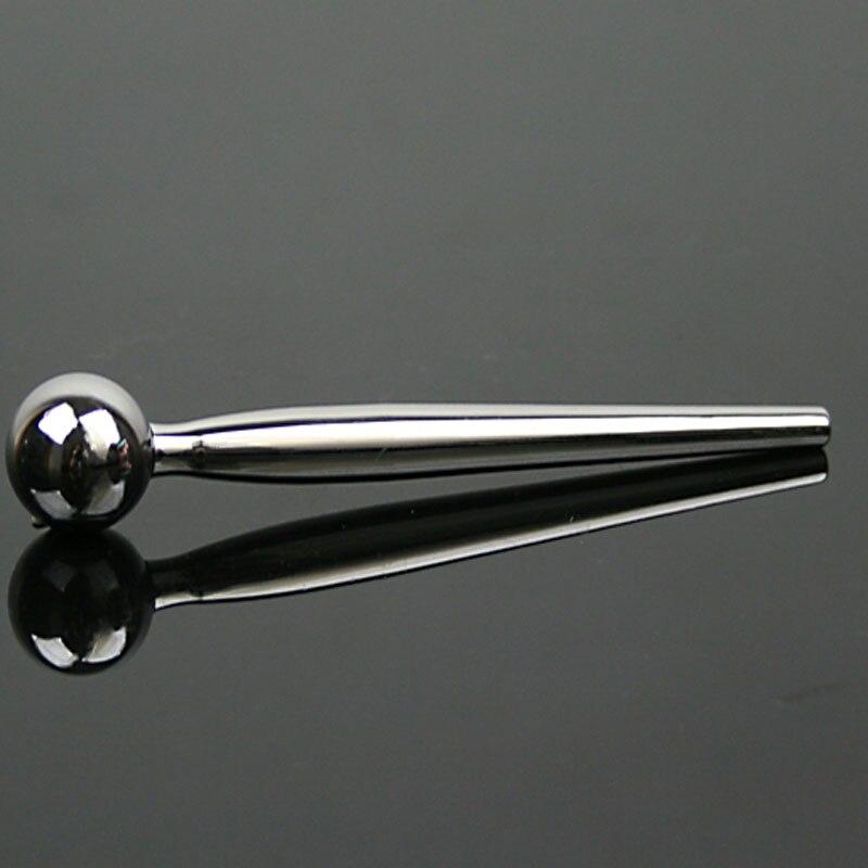 Plus large bouchon urétral en acier inoxydable, perles urétrales, sexe tos pour hommes bouchons de pénis dilatateurs urétraux