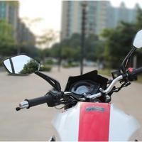 2017 Top Sale New 1 Pair Motorcycle Rear View Mirrors Universal Handlebar Side Rearview Mirror For