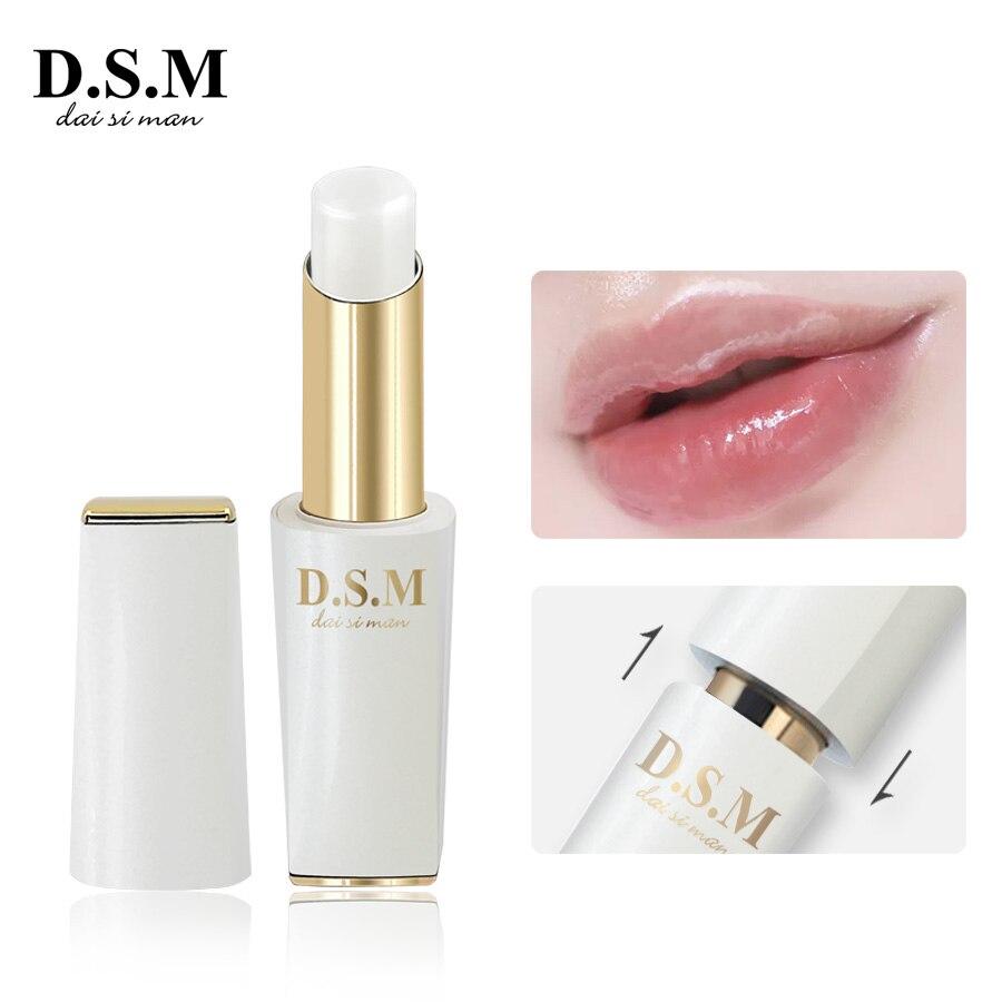 D.S.M Marke Neue Glanz Lippenstift Einfach zu Tragen Lange Anhaltende Lipstain Make-Up Profi Lip Kosmetik Farbe-ändern Lip Balm