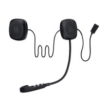 Audew 50M Waterproof Moto bluetooth Wireless Anti-interference Helmet Headset Hands Free bluetooth V4.2 Intercom for Motorcycle(China)