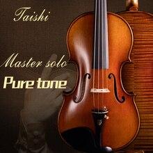 Скрипка Taishi UM Grande Stradivarius1715 Tittan o 4/4 скрипка o скрипка rosin профессиональная скрипка