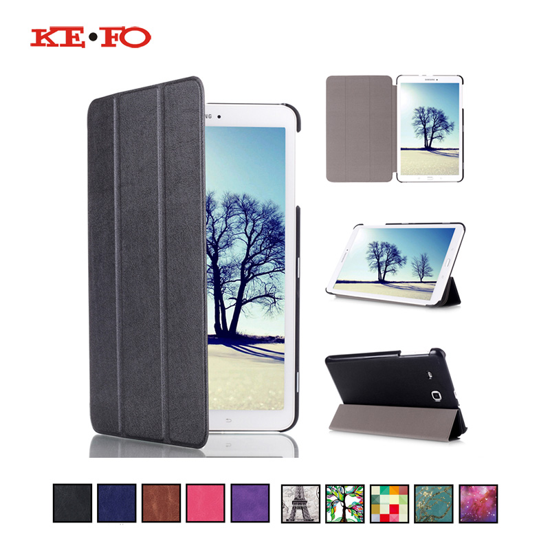 For Samsung Galaxy Tab E 8.0 T377 T377V SM-T377 T375 Case Cover Funda Tablet Fashion Print PU Leather Shell For Galaxy TabE T377