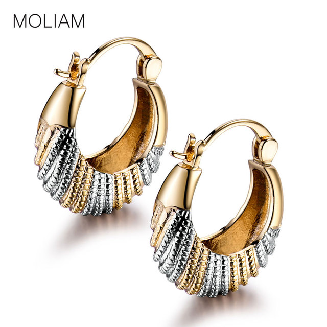 Moliam Awesome Las Earing Jewelry Charm Chic Snap Closure Hoop Earring For Womens Mle421