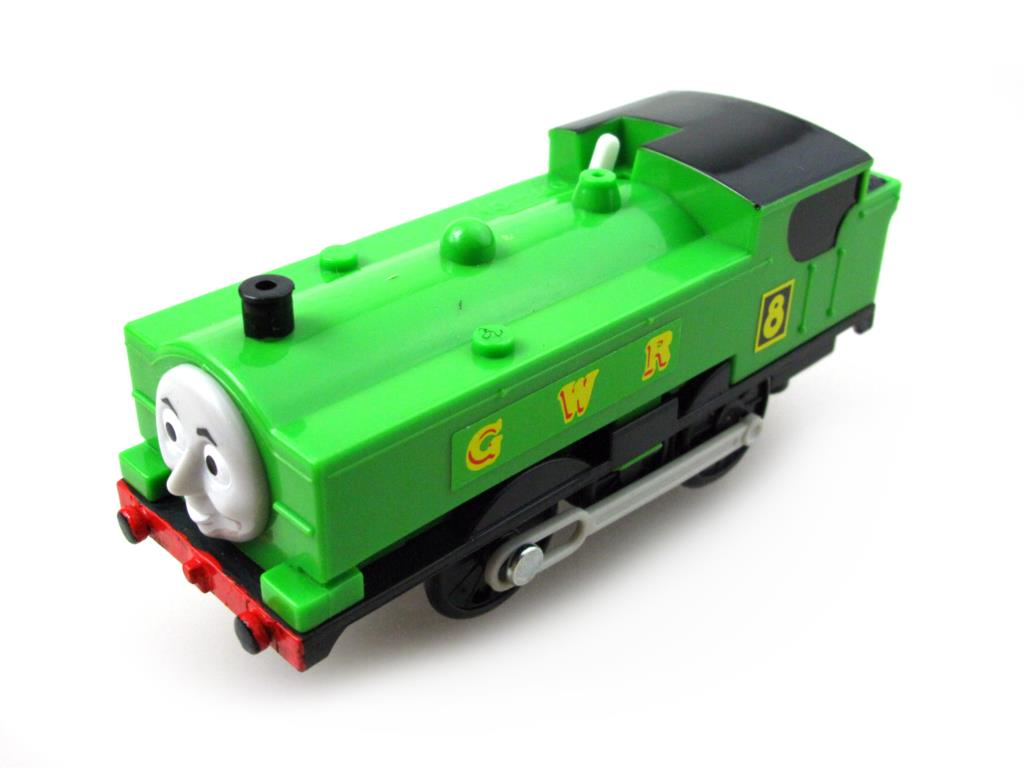 Electric Thomas Train T044E DUCK Thomas And Friends Trackmaster Magnetic Tomas Truck Car Locomotive Engine Railway Toys for Boys