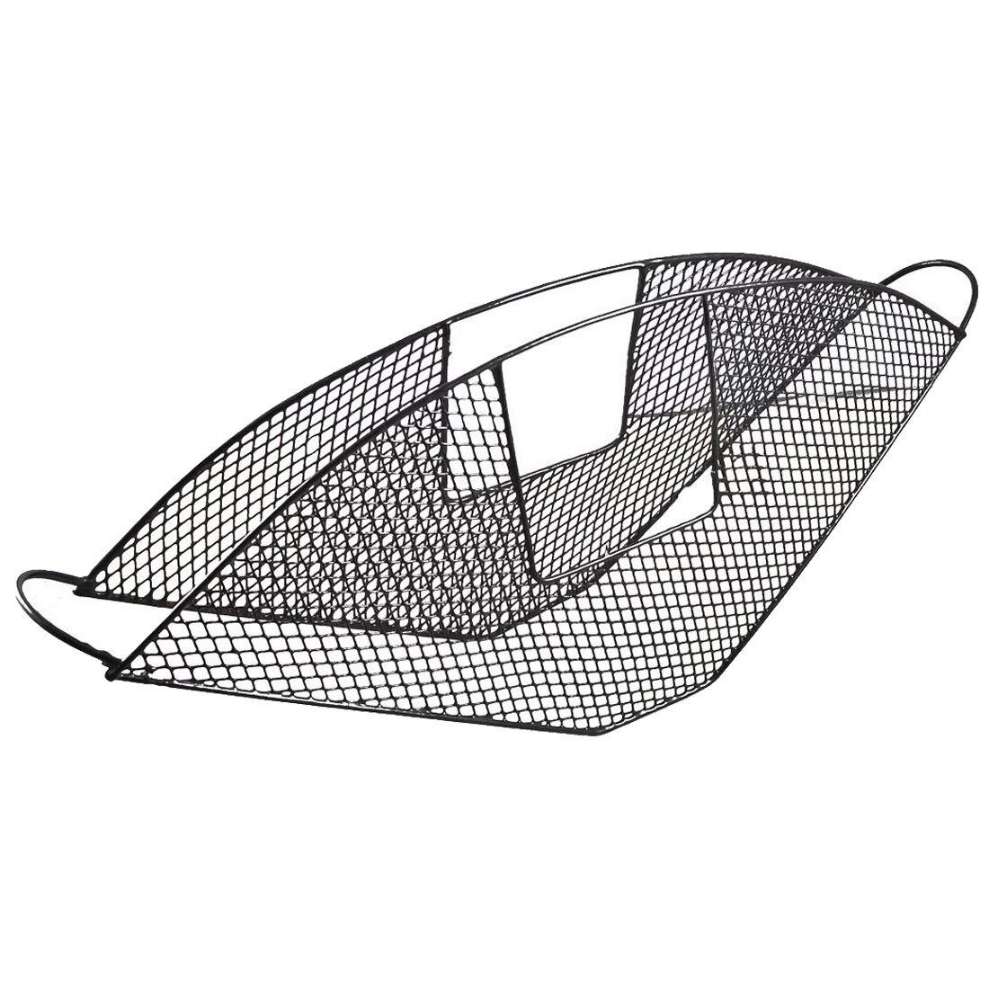 Bike Bicycle Black Metal Wire Net Design Rear Wheel Skirt Guard