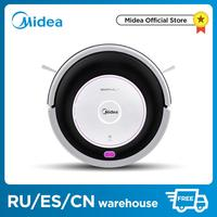 Midea MR02\01 Robot Vacuum Cleaner with 1000PA Suction,Vacuuming and Mopping 2in1,Remotel,4 Cleaning Modes,G SLAM,floorcare