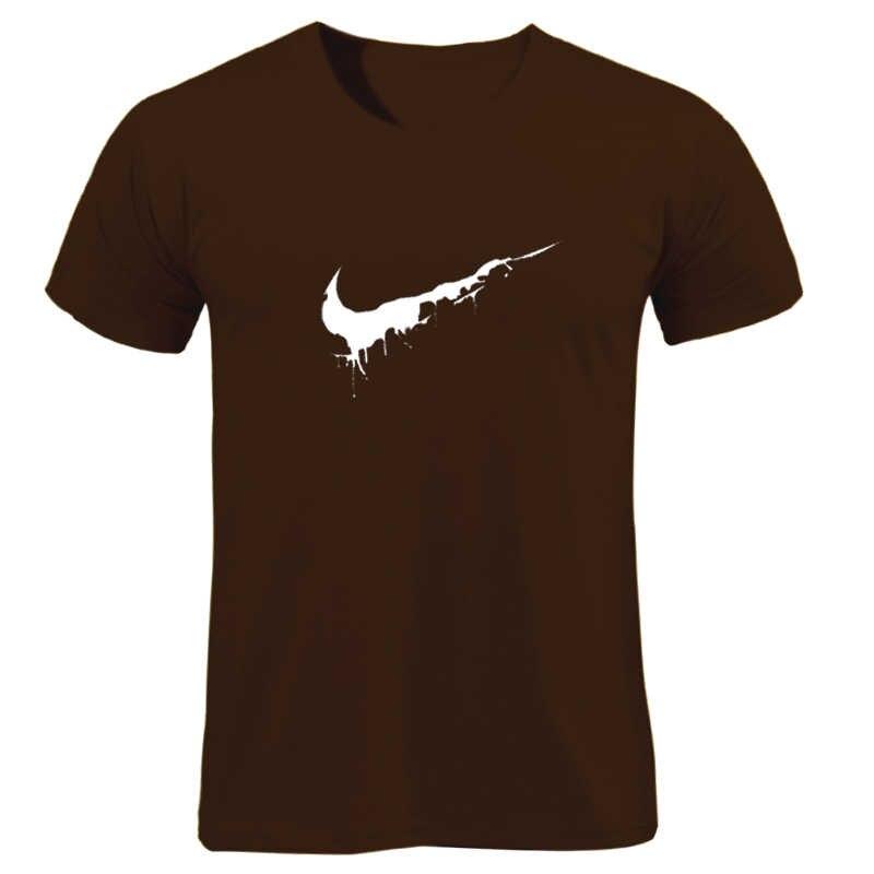Tops Custom 2019 Nieuwe Gewoon het Shirt Mens Katoen Casual T-shirts Zomer Skateboard Tee Jongen Skate Tshirt Grafische Gewoon Breken het