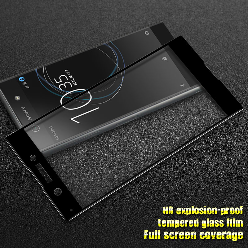 GXE For Sony Xperia XA1 3D Full Screen Coverage Tempered Glass For Sony Xperia XA1 Screen Protector Full Covered Protective Film 5