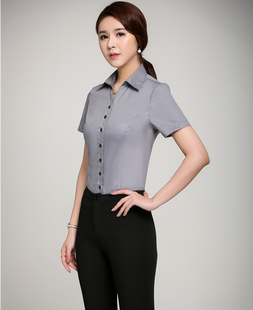 df6200c76bbcd Formal Uniform Design Summer Professional Female Pantsuits With Tops And Pants  Ladies Office Trousers Sets Work