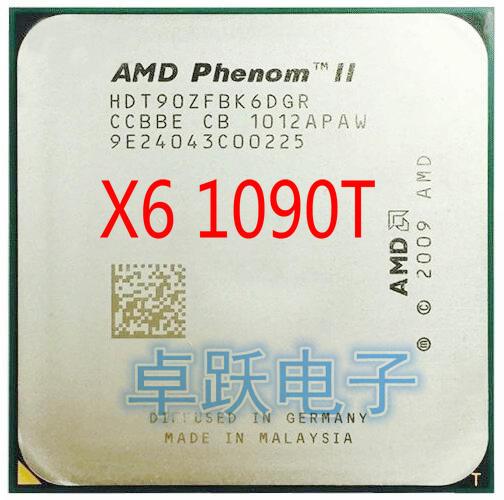 Free shipping AMD Phenom II x6 1100T 3.3GHz Socket AM3 6 Core HDE00ZFBK6DGR