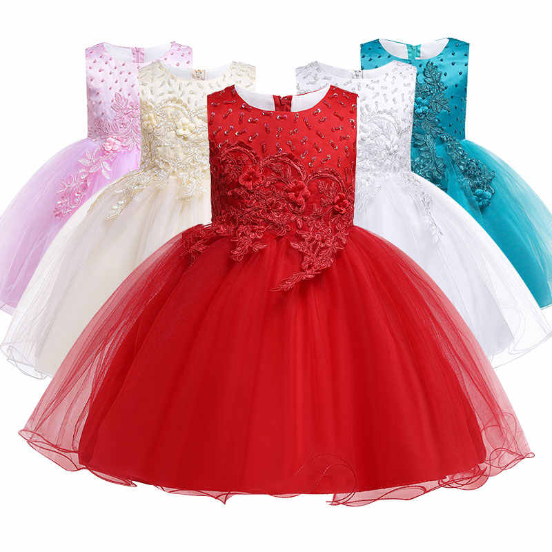 c5cd15550 Dresses For Girls Clothes Summer Girls Dress Gown Kids Bridresmaid Wedding  Dress Elegent Children Clothing Princess