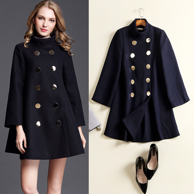Compare Prices on Wool Pea Coat Womens- Online Shopping/Buy Low ...