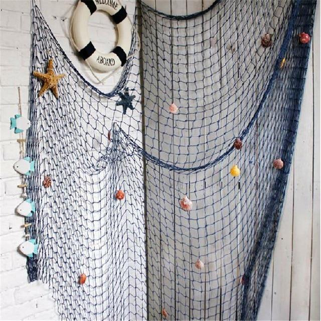 Mediterranean Style Fishing Net Wall Decor 5