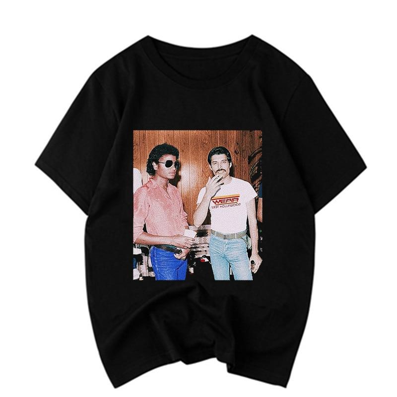 Pose hombre Jackson Camiseta Bad Michael R5j4LA