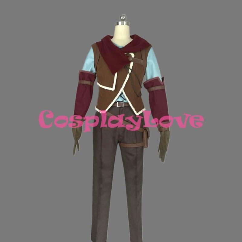 No Game No Life: Zero Riku Dola Cosplay Costume High Quality Stock Cusotm Made For Halloween Christmas CosplayLove