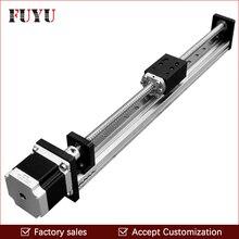 цены Free shipping 500 Mm Stroke Fuyu Brand C5 Ball Screw Driven Linear Motion Guide Rail For Printer