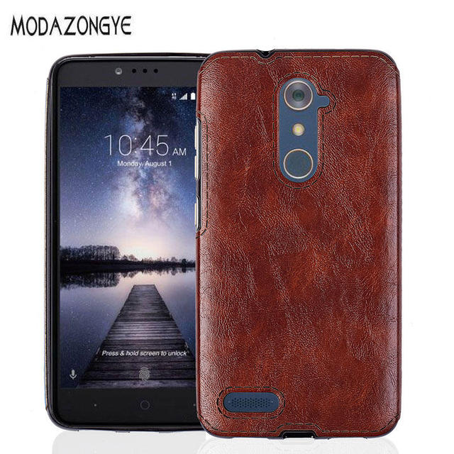 best cheap 2f14f 5a3ef US $4.64 |ZTE Z981 Case ZTE ZMAX Pro Case PU Leather Back Cover Phone Case  For ZTE Z981 Z 981 Silicone Protective Case -in Fitted Cases from ...