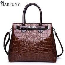 High Quality Handbag Female Leather Crossbody Bag Alligator Shoulder Bags For Women 2018 Luxury Handbags Women Bags Designer New недорго, оригинальная цена