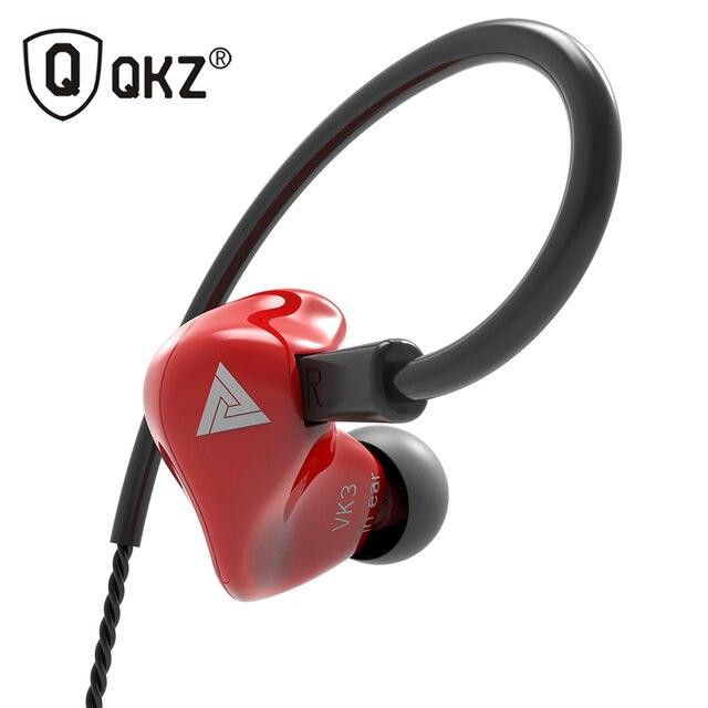 Nes QKZ VK3 Earphone 3.5mm in ear earphones bass sport fone de ouvido headset stereo earphone for phone xiaomi iphone 7 plus s9
