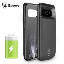 Внешнее зарядное устройство чехол для Samsung Galaxy S8 корпус батареи резервного питания банк чехол для Samsung Galaxy S8 плюс крышка BASEUS