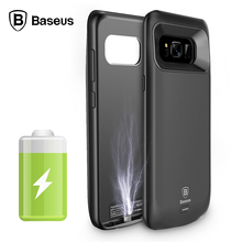 External Battery Charger Case For Samsung Galaxy S8 Battery Case Backup Power Bank Case For Samsung Galaxy S8 Plus Cover Baseus
