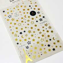 Creative Star And Tower Stickers Diary Sticker Scrapbook Decoration PVC Stationery DIY Stickers School Office Supply cheap 3 years old Lonelyeyes Plastic