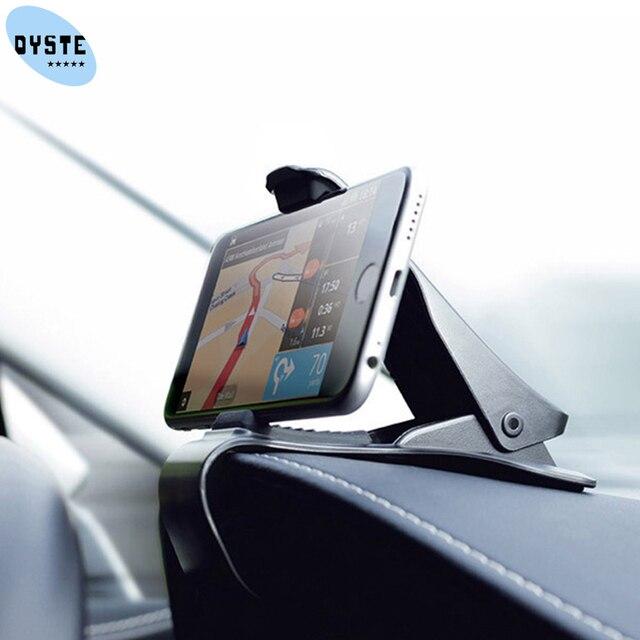 Universal car phone holder support smartphone voiture telefoonhouder auto phone car holder uchwyt samochodowy do telefonu stand