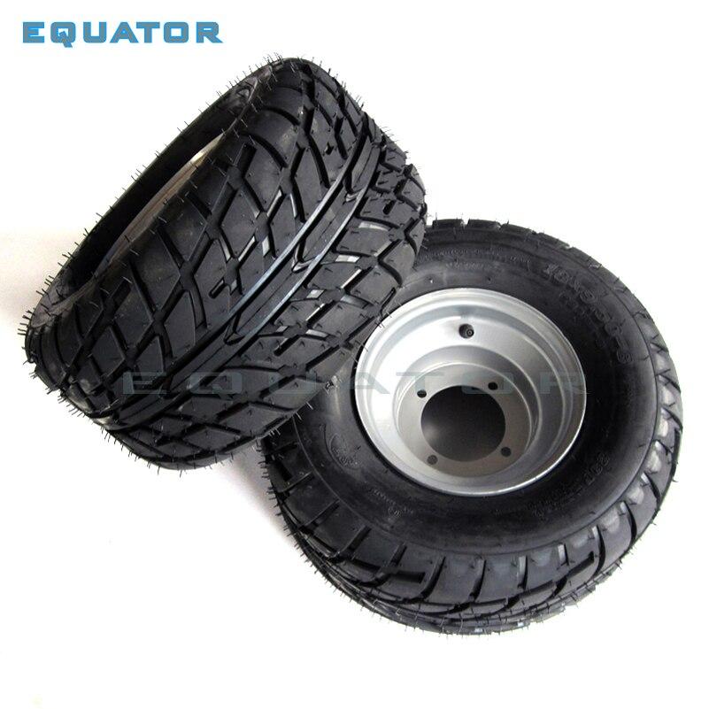 ATV 8 pouces sous vide haute résistance à l'usure pneus 18X9. 50-8 18*9.50-8 (220/55-8) pneus de route avec roues en fer - 4
