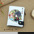 Japan Anime Fashion Credit Card Holder PU Leather Money Bag Hozuki no Reitetsu Cosplay Wallets with Coin Pocket