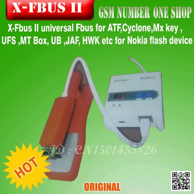100%original 2016 new X-Fbus II universal BB5 Fbus Cable for ATF,Cyclone,Mx key , UFS ,MT Box, UB ,JAFfor Nokia....